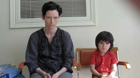 Tilda Swinton and Rocky Duer in