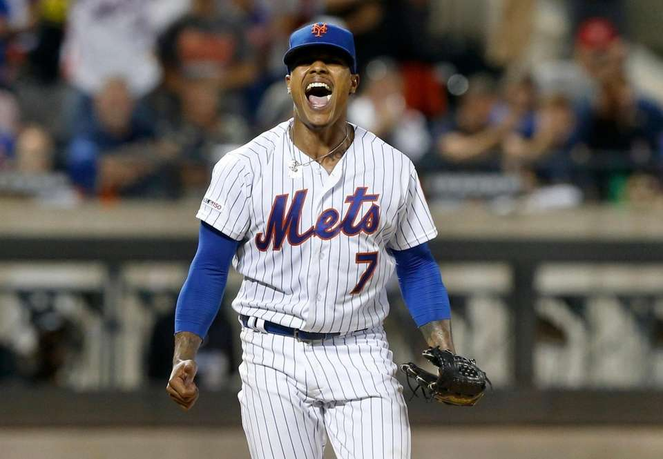 Marcus Stroman #7 of the New York Mets