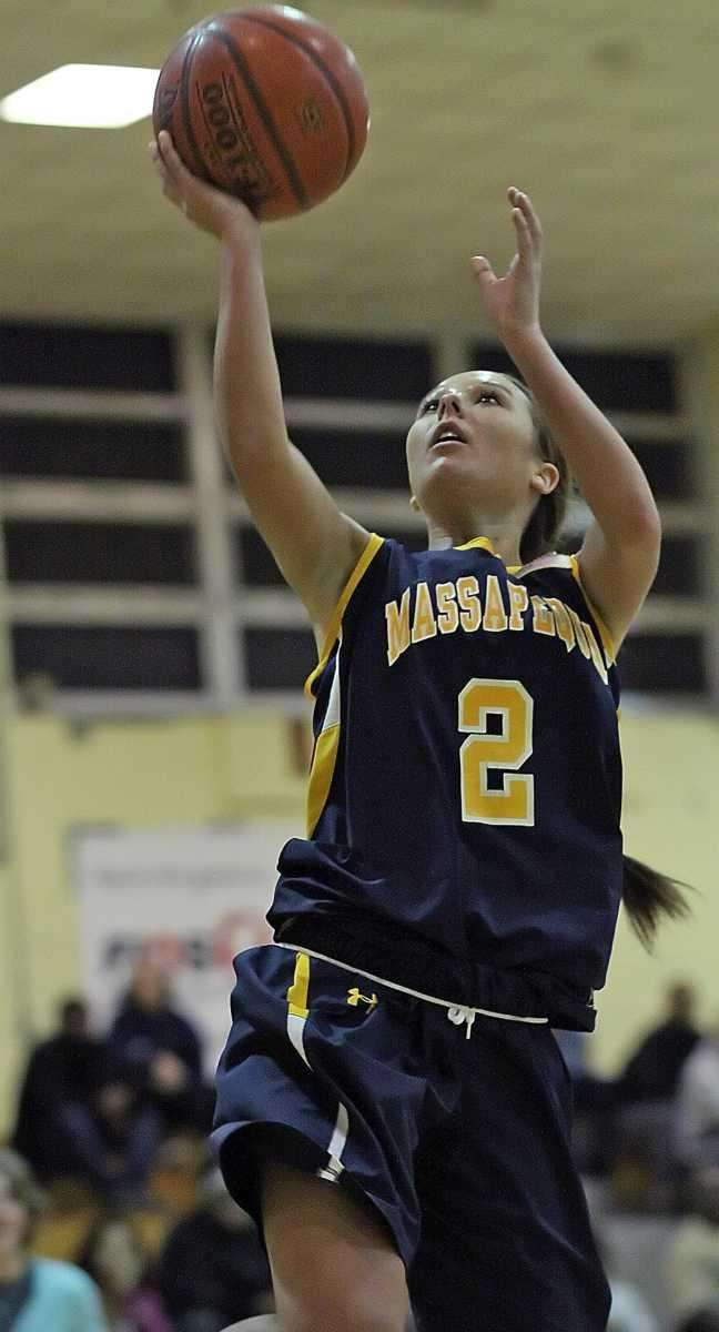 Massapequa's Danielle Doherty gets two on a layup.