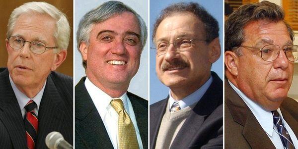 (L-R) James Hunderfund, former superintendent of Commack/Malverne; Richard
