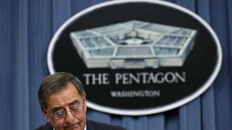 U.S. Defense Secretary Leon Panetta (Jan. 26, 2012)