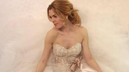 Victoria Nicole's Bridal Collection features this latte tulle