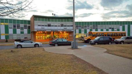 Wyandanch Memorial High School, part of the Wyandanch