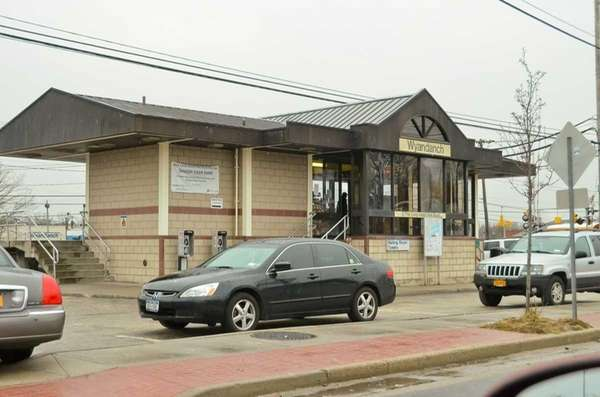 The Wyandanch Long Island Rail Road station is