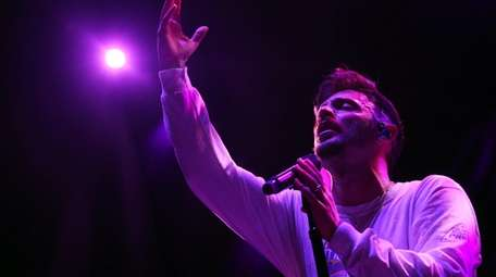 Jon Bellion takes the stage at Northwell Health