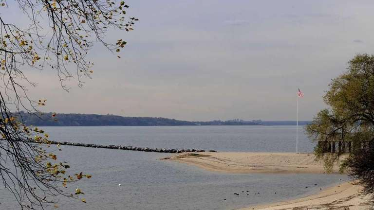 Views of Long Island Sound from Morgan Park