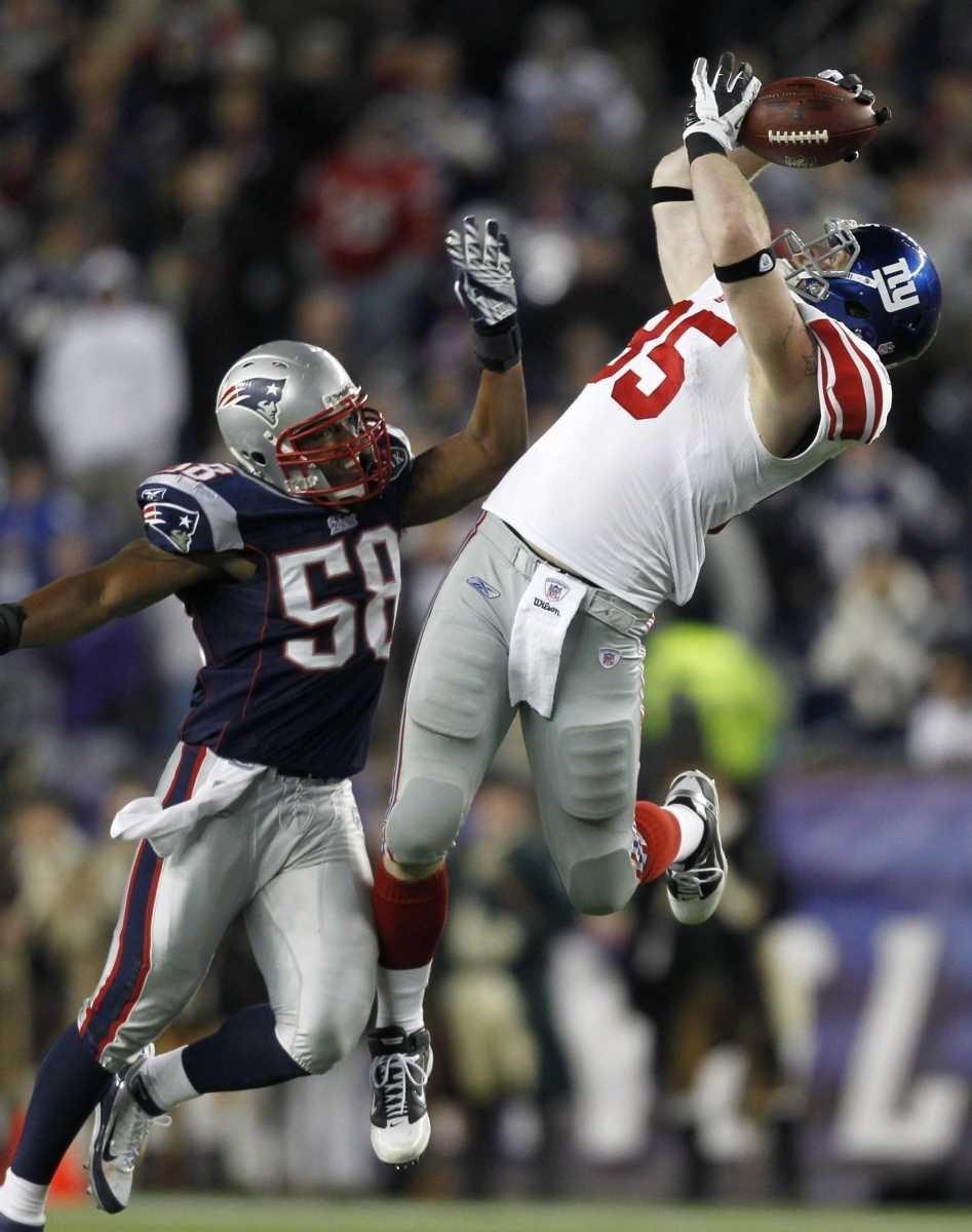 WEEK 9 Giants 24, Patriots 20 Key play:
