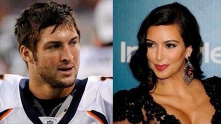 Kim Kardashian and Tim Tebow