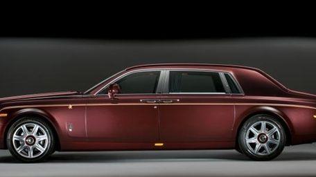 2011 Rolls-Royce Phantom Dragon Edition