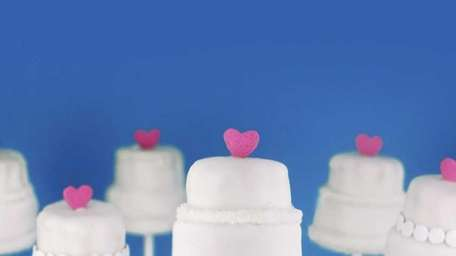 Cake pops are the new cupcakes.