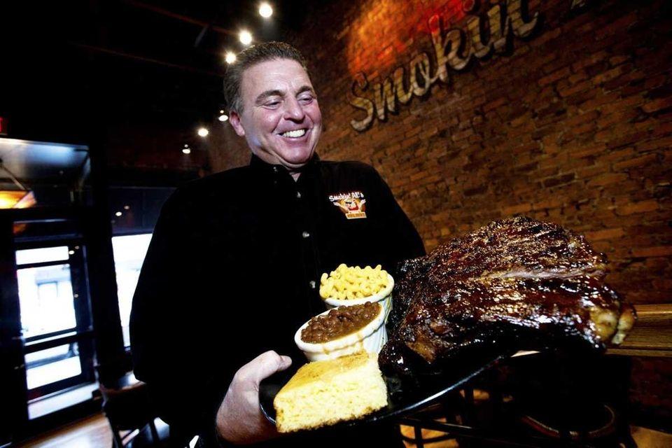 Al Horowitz, owner of Smokin' Al's, at his