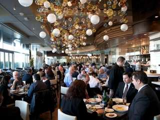Diners linger over lunch at Jewel, a new