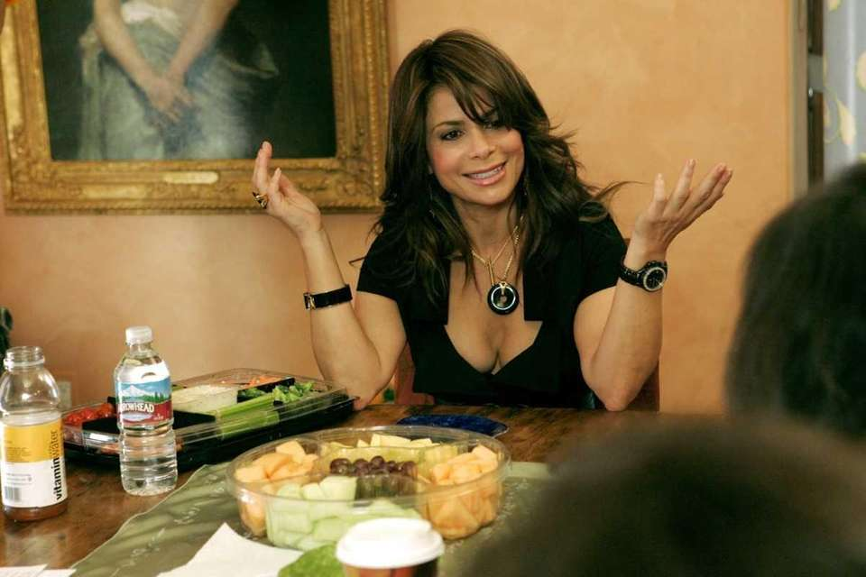 Paula Abdul in the 2007 Bravo series