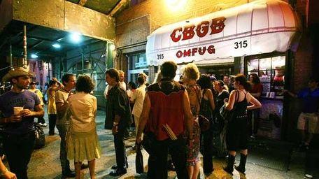 CBGB, 2005.