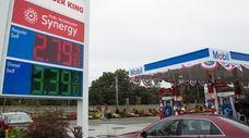 The average price of regular-grade gasoline has dropped