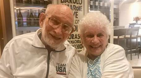 Edith and Bob Kushner from East Meadow are