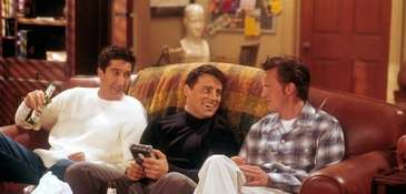 """Friends,"" starring David Schwimmer as Ross (from left),"