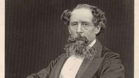 British author Charles Dickens in an undated photo.