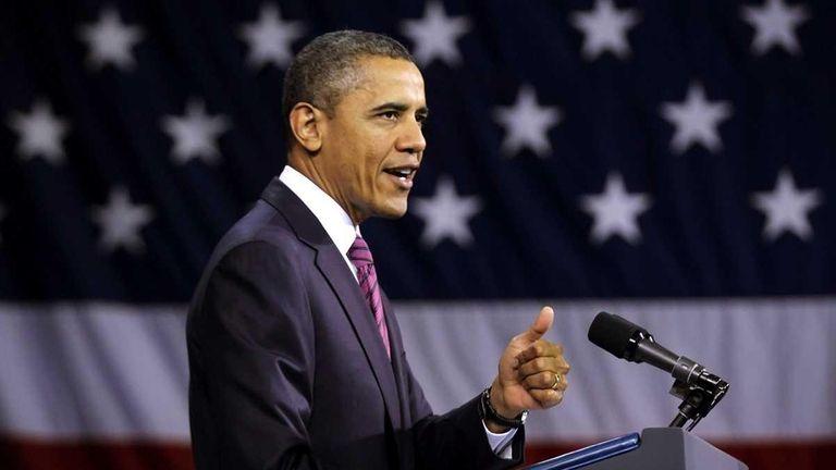 President Barack Obama delivers remarks on expanding mortgage