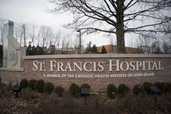 St. Francis Hospital in Roslyn.