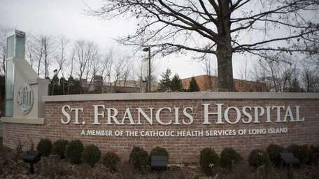 St. Francis Hospital in Roslyn.