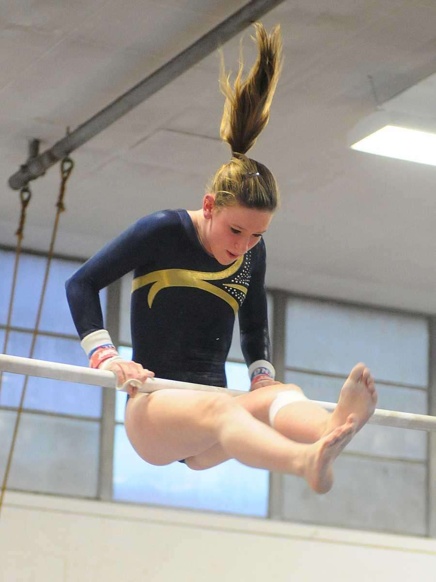 Alexis Fraher of Bethpage High School performs her
