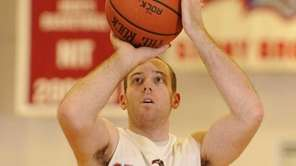 Stony Brook guard Bryan Dougher shoots a foul