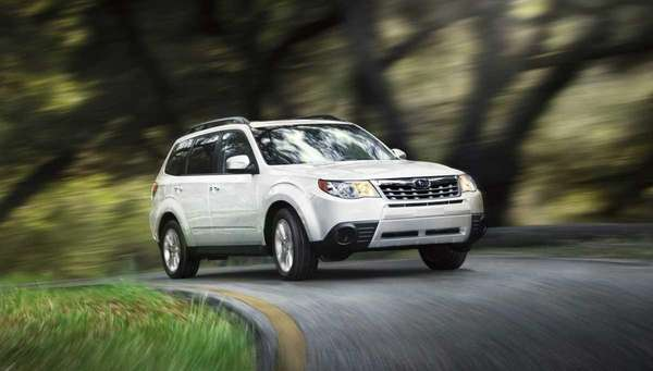 The 2012 Subaru Forester.