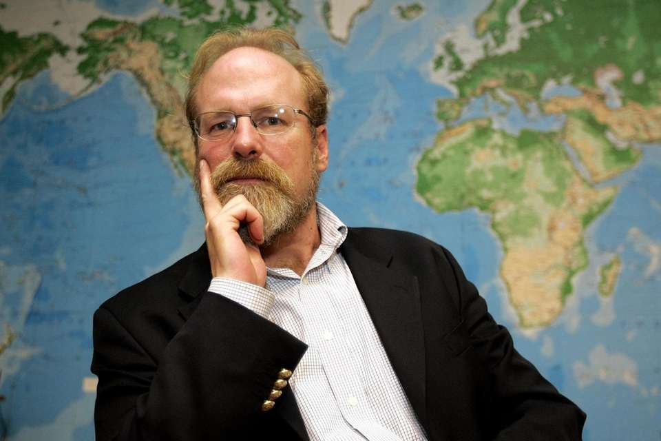 Steve Sawyer, a former executive director of Greenpeace