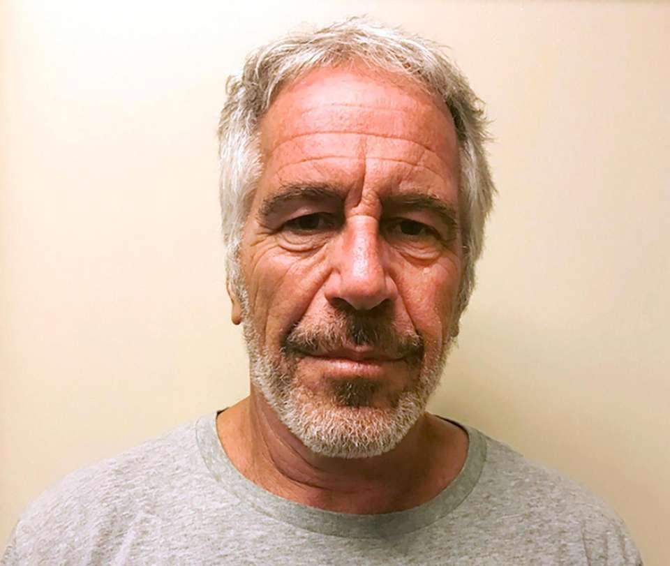 Financier Jeffrey Epstein, who was awaiting a sex-trafficking