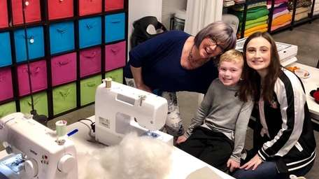 Little Miss Sew It All in Manorville teaches