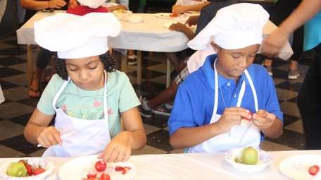 The Kids in the Kitchen program at the