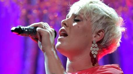 P!nk performs onstage during the 63rd Annual BMI