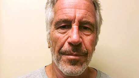 Jeffrey Epstein is pictured on March 28, 2017.