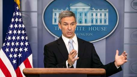 Ken Cuccinelli, acting director of Citizenship and Immigration