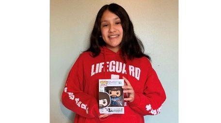 Kidsday reporter Gabriela Reinoso of Carle Place High