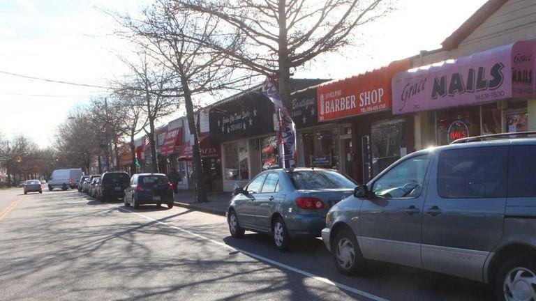 Nassau Boulevard in Garden City South. (Jan. 31,