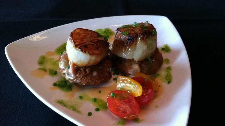 The scallop small plate at The Phoenix in