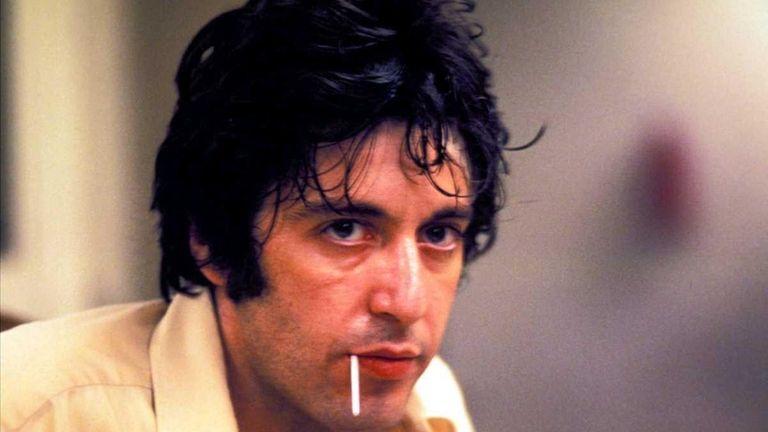 Al Pacino as Sonny Wortzik in a scene