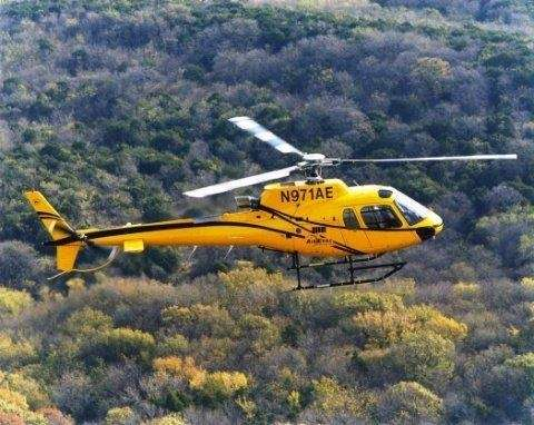 AS350 Squirrel helicopter, to be supplied with a