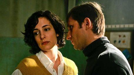 Zana Marjanovic, left, and Goran Kostic are shown