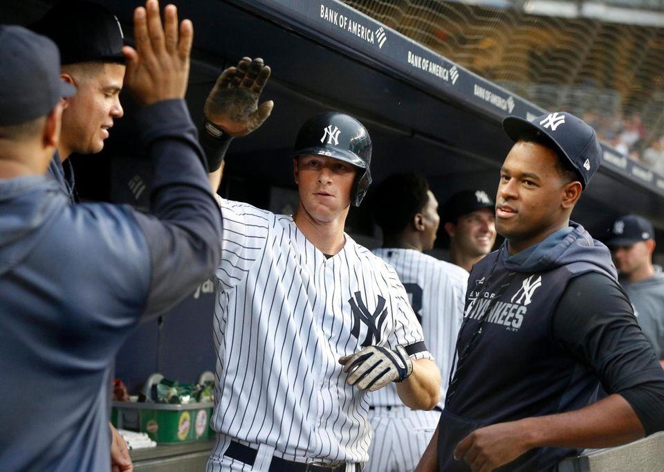 DJ LeMahieu #26 of the New York Yankees
