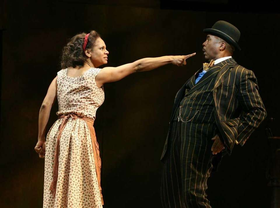 "Audra McDonald and David Alan Grier in ""The"