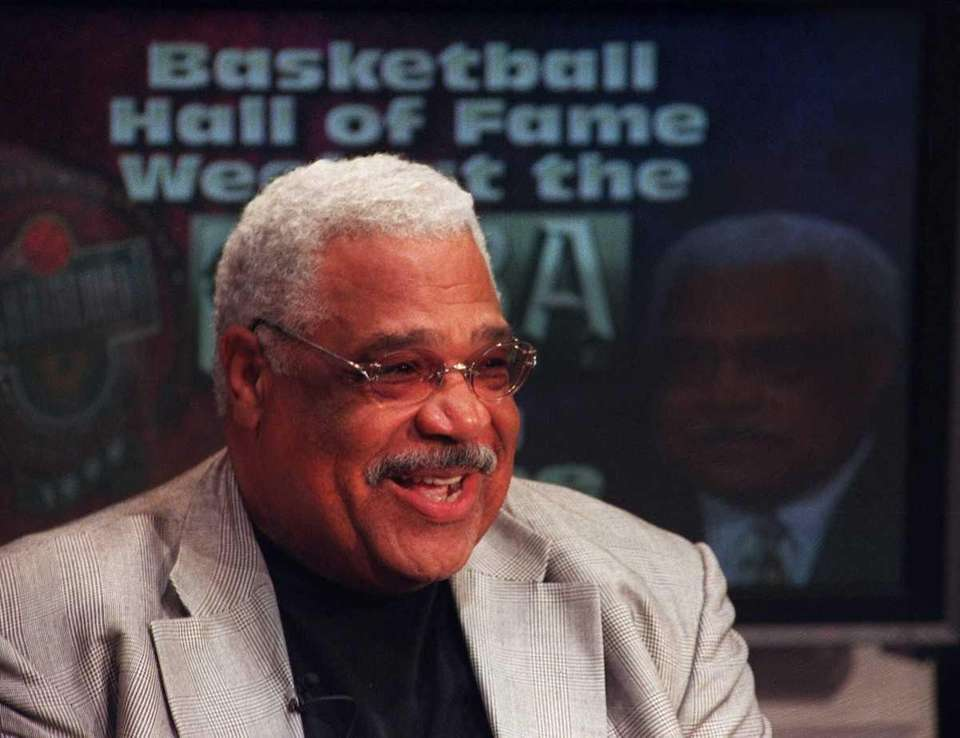 WAYNE EMBRY Basketball Embry became the first black