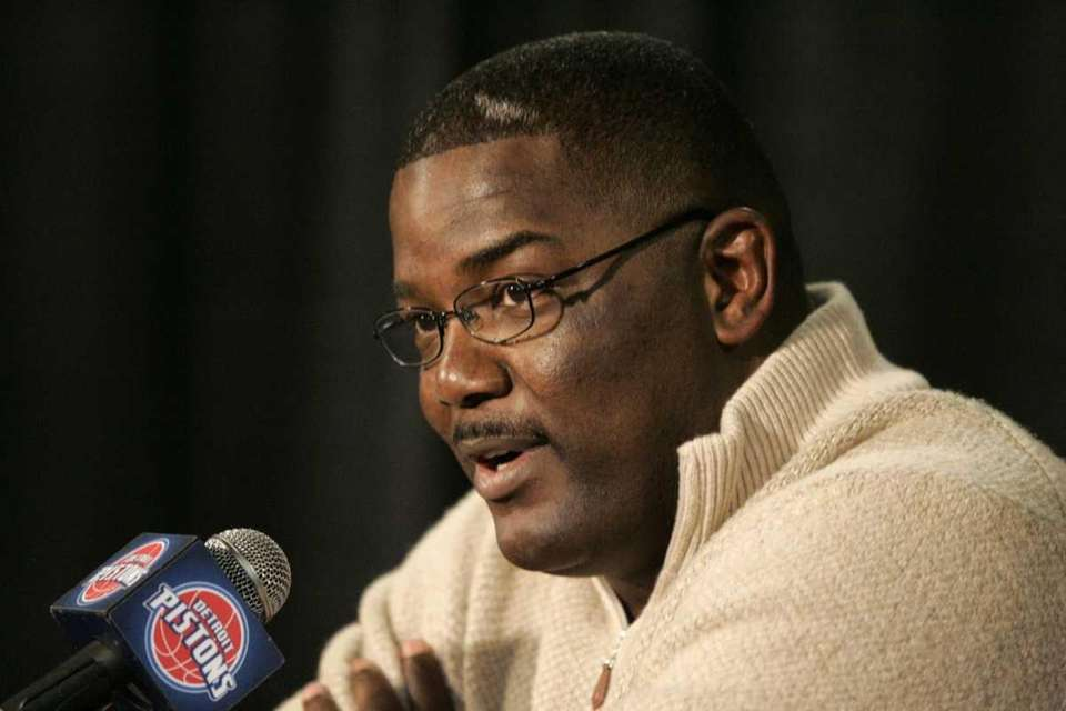 Dumars became the first black GM in the