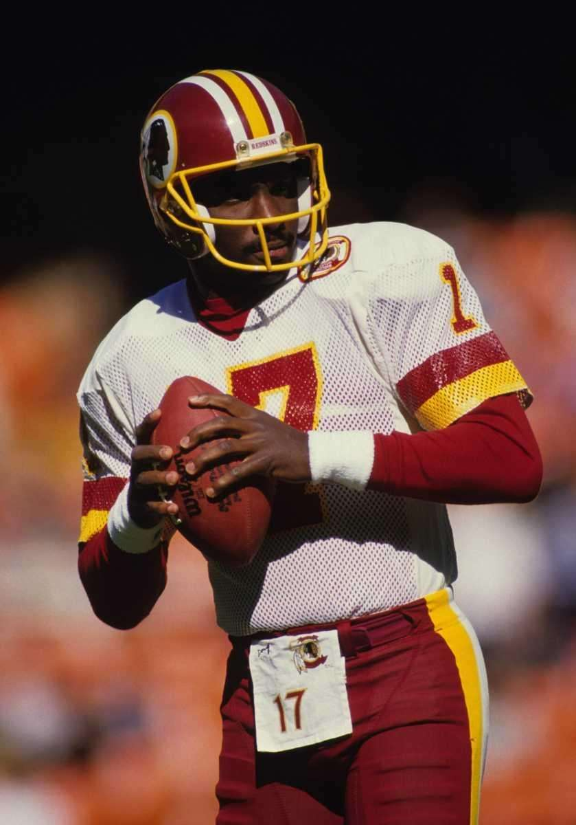 DOUG WILLIAMS Football With the Redskins in 1988,