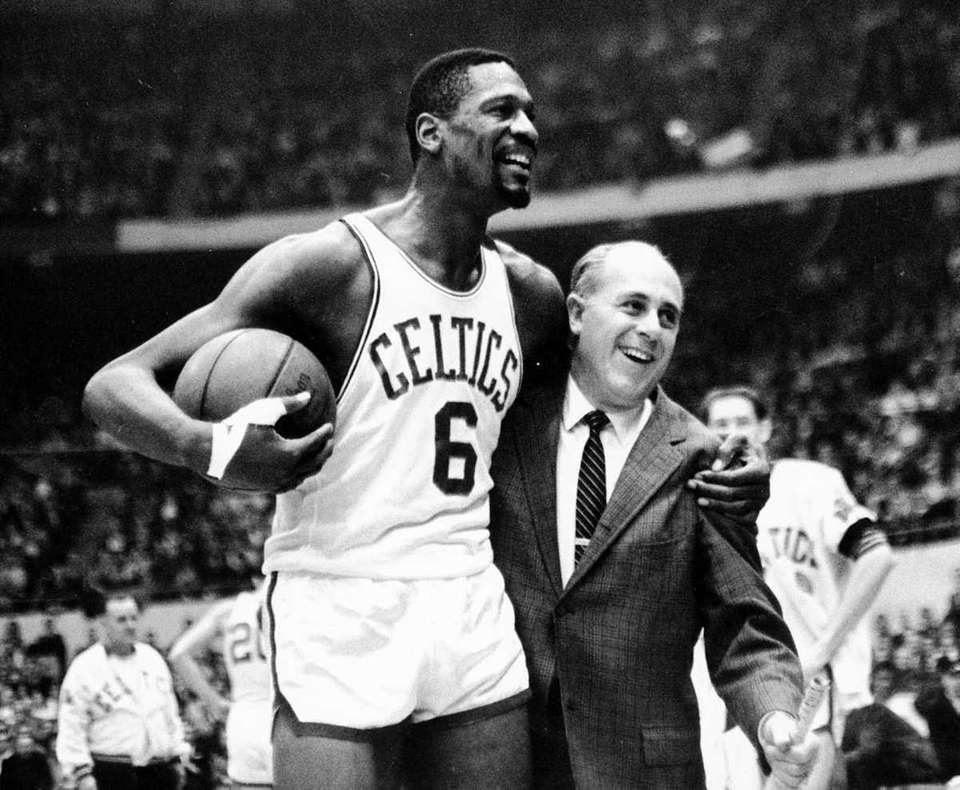 BILL RUSSELL Basketball Russell was the first black
