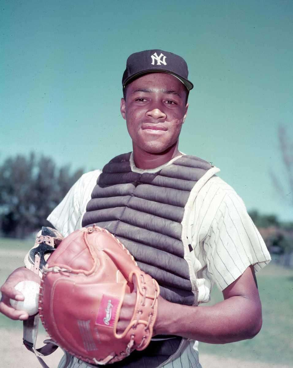 Howard, a catcher for the Yankees, batted .287