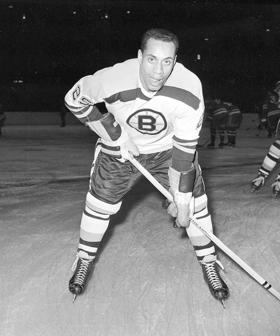 In 1958, Willie O'Ree made his debut with