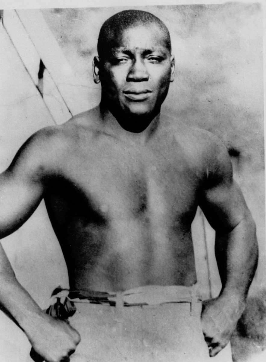 JACK JOHNSON Boxing